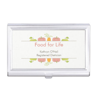 Professional Dietician, Nutritionist, or Chef Business Card Holder
