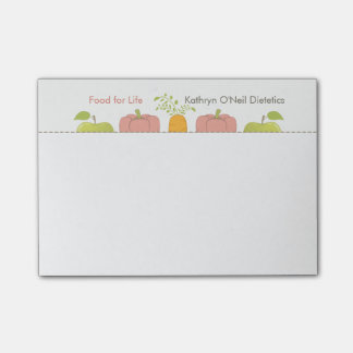 Professional Dietician or Nutritionist's Message Post-it® Notes