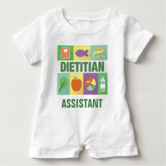 Professional Dietitian Iconic Designed Baby Romper