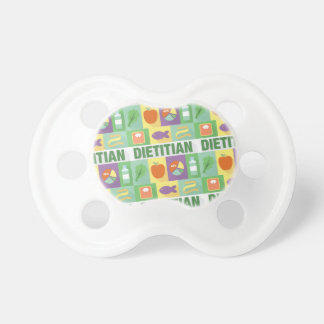 Professional Dietitian Iconic Designed Pacifier