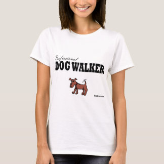 Professional Dog Walker T-Shirt