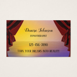 Professional Dream Appointment Business Card