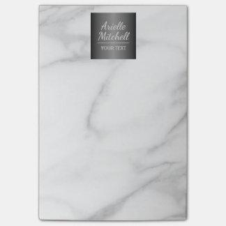 Professional Elegant Alabaster Marble Pattern Post-it® Notes