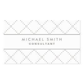 Professional Elegant Dot Pattern White Groupon