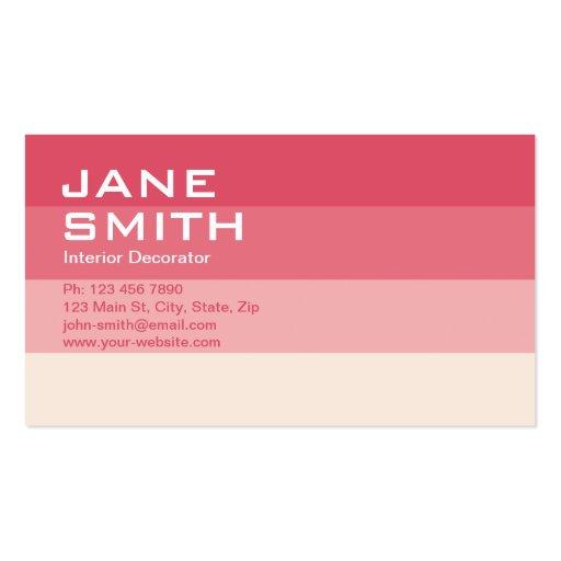 Professional Elegant Interior Designer Decorator Business