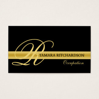 Professional elegant luxury business card design