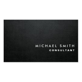 Professional Elegant Modern Black Plain Simple