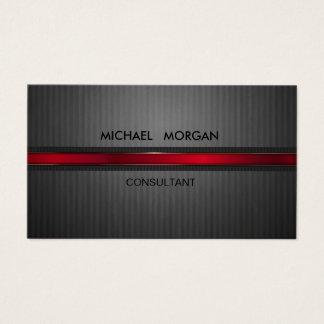 Professional Elegant Modern Black,Red Business Card