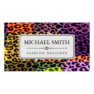 Professional Elegant Modern Leopard Skin #40 Business Card