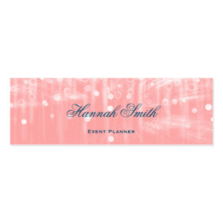 Professional elegant modern luxury glitter pack of skinny business cards