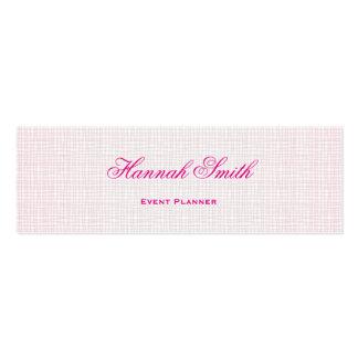 Professional elegant modern luxury glitter mini business card