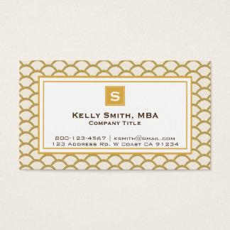 Professional Faux Glitter Scallop Designer Card