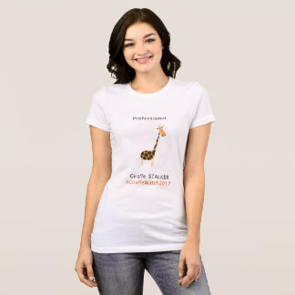 Professional Giraffe Stalker T-Shirt