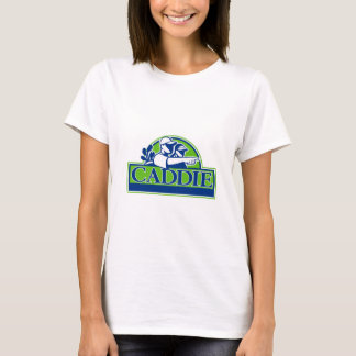 Professional Golfer and Caddie Retro T-Shirt