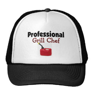 Professional Grill chef Trucker Hat