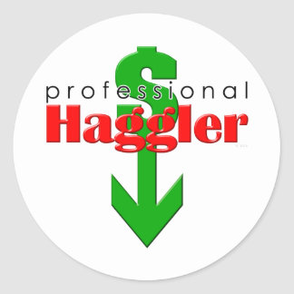 Professional Haggler Sticker