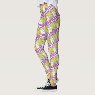 Professional Hair Stylist Iconic Designed Leggings