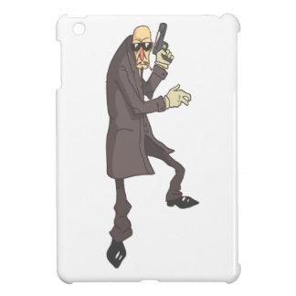 Professional Killer Dangerous Criminal Outlined iPad Mini Cover