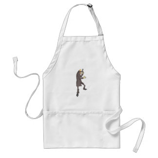 Professional Killer Dangerous Criminal Outlined Standard Apron