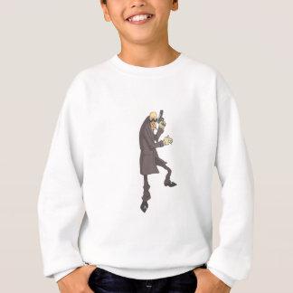Professional Killer Dangerous Criminal Outlined Sweatshirt