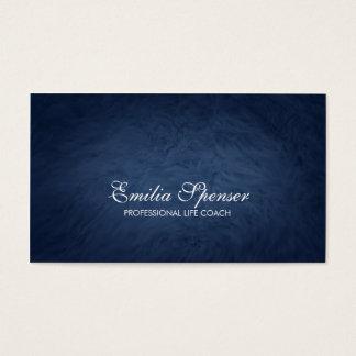 Professional Life Coach Blue Fur Texture Card