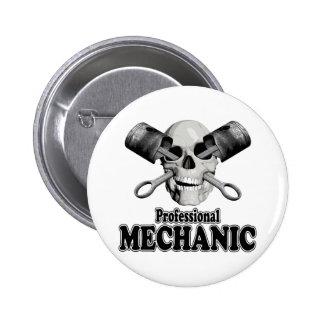 Professional Mechanic Pinback Button
