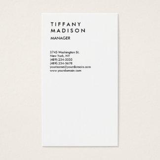 Professional Minimalist Trendy Stylish Business Card