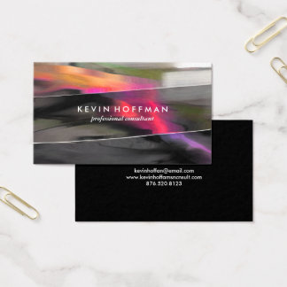 Professional Modern Abstract design Business Cards