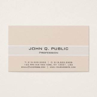 Professional Modern Elegant Harmonic Colors Business Card