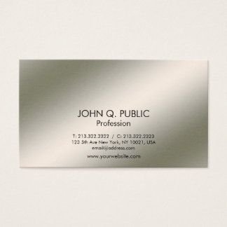 Professional Modern Elegant Light and Shadow Business Card
