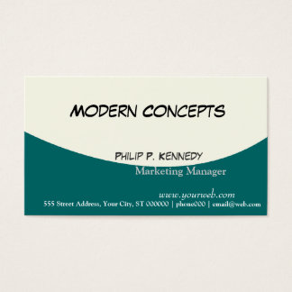 Professional Modern Masculine Stylish Clean Business Card