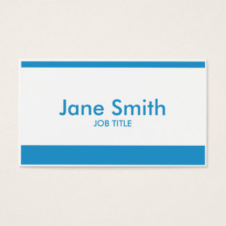 Professional Modern Plain Simple Stylish Classy Business Card