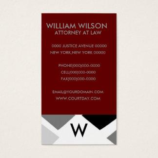 Professional Monogram Business Cards