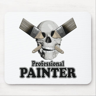 Professional Painter Mouse Pad