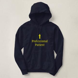 """Professional Patient"" Hoodie"