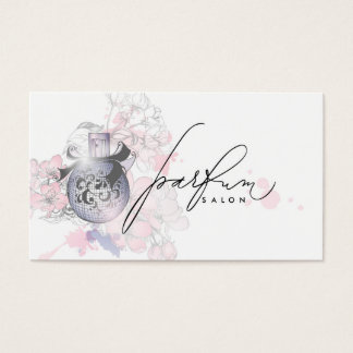 Professional Perfume Salon Beauty Fragrance Card