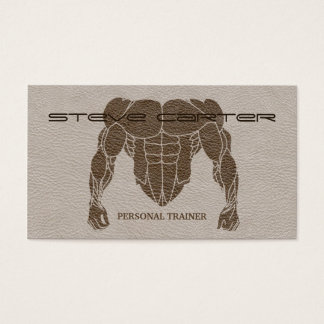 professional Personal Trainer / Bodybuilder Card
