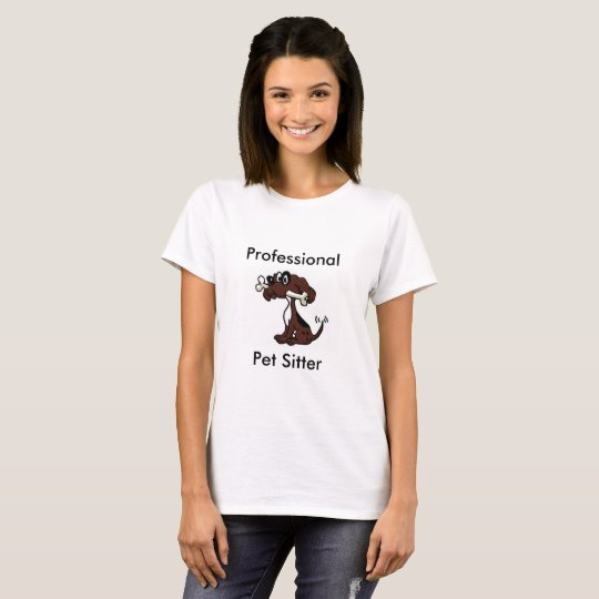 Professional Pet Sitter T-Shirt