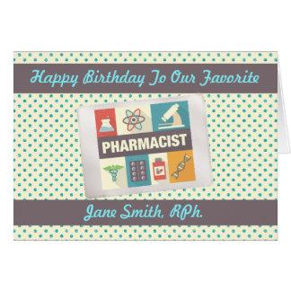 Professional Pharmacist•Custom Birthday Card