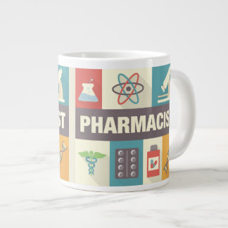 Professional Pharmacist Iconic Designed Large Coffee Mug