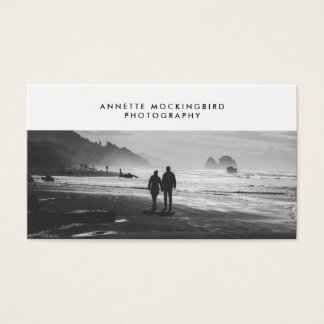 Professional Photo Minimalist Photography Business Card