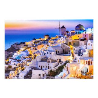 Professional Photo Paper (Satin) Oia Santorini