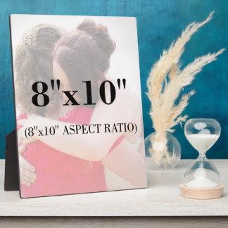 Professional Photo Template 8 x 10 Aspect Ratio Plaque