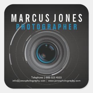 Professional Photographer Camera Lens Stickers