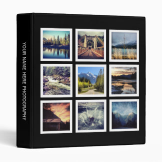 Professional Photographer Display Porfolio 3 Ring Binder