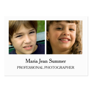 Professional Photograpy Business Card