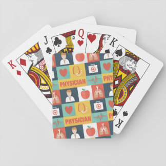 Professional Physician Iconic Designed Playing Cards