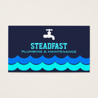 Professional Plumbing Service | Plumber Business Card