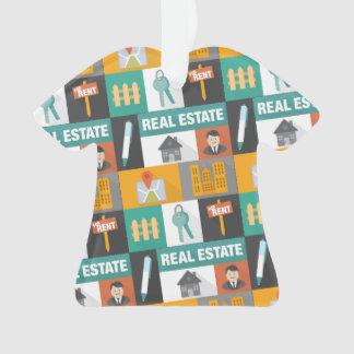 Professional Real Estate Agent Ornament