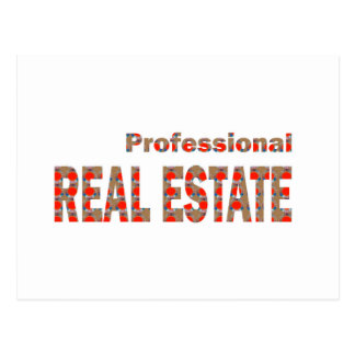Professional REAL ESTATE House Condo Villa Town Ci Postcard